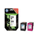 Pack de 2 cartouches d'encre noire et couleur