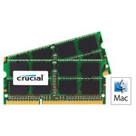 Kit Dual Channel SO-DIMM DDR3 PC8500 - CT2C2G3S1067MCEU (garantie à vie par Crucial)