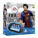 Sony Playstation Vita Wi-Fi Noire + FIFA 13 (en téléchargement) + Carte Mémoire 4 Go