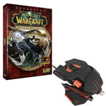 Souris laser ajustable pour gamer + Extension pour World of Warcraft