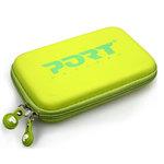 Coque de transport rigide pour disque dur externe 2.5'' (coloris vert)
