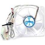Ventilateur de boitier 80 mm à 3 vitesses + Grille de ventilateur 120mm