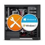 Licence Microsoft Windows 7 Pro 64 bits (français) incluse