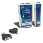 Testeur Professionnel pour Câble de réseaux + Adaptateurs USB et FireWire