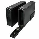 """Boîtier externe pour disque dur 3.5"""" Serial ATA (USB 3.0)"""
