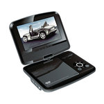 """Lecteur DVD 7"""" rotatif Portable avec port USB"""