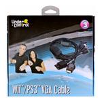 Câble VGA pour PlayStation 3 et Wii