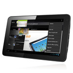 "Tablette Internet - ARM Cortex A9 1.2 GHz 4 Go 10.1"" LCD tactile Wi-Fi N Webcam Android 4.0"