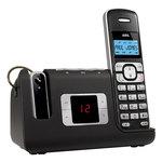 Téléphone DECT sans fil avec répondeur et oreillette sans fil (version française)