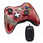 Joypad sans fil pour Xbox 360 + adaptateur PC pour manette sans fil Xbox 360