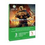 Carte Xbox LIVE Gold 3 mois + 1 offert - Gears of War Judgment (Xbox 360)
