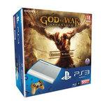 Console Playstation 3 Ultra Slim Blanche 500 Go + le jeu God Of War : Ascension