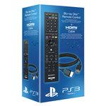 Télécommande pour lecteur Blu-ray PlayStation 3 + câble HDMI