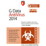 Antivirus - Licence 1 an 3 postes (français, WINDOWS)