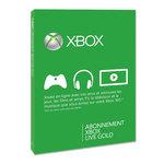 Carte Xbox LIVE Gold 6 mois + 1 offert (Xbox 360)