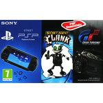 Console PSP Street (coloris noir) + Gran Turismo + Secret Agent Clank