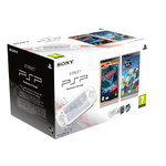 Console PSP Street (coloris blanc) + Cars 2 + Phineas and Ferb : Across the 2nd Dimension