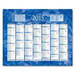 Calendriers Bouchut Grandrémy Calendrier de banque 2015 - 2 x 7 mois (32 x 42 cm)