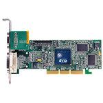 Carte graphique Dual-Display 32 Mo sur port AGP (1 sortie DVI + 1 sortie VGA)