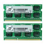 Kit Dual Channel RAM SO-DIMM DDR3 PC3-10600 - F3-1333C9D-8GSL (garantie à vie par G.Skill)