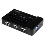 StarTech.com hub 2 ports USB 3.0 + 4 ports USB 2.0 + 1 port de charge USB