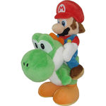 Peluche Mario Bros Nintendo Mario & Yoshi 22cm