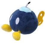 Peluche Mario Bros Nintendo Bob-omb vert 14cm