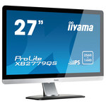 2560 x 1440 pixels - 5 ms - Format large 16/9 - Dalle IPS - Pivot - DisplayPort - HDMI - Argent