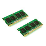 Kit Dual Channel DDR3 SO-DIMM PC10666 - KVR13S9S8K2/8 (garantie à vie par Kingston)