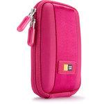 Étui semi-rigide pour appareil photo compact (coloris rose)