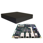 AMD Geode LX800 - DDR 256 Mo - 1x IDE - 1x Mini-PCI - 2x USB - 1x COM - 3x Ethernet RJ45 (non monté)