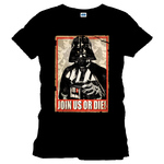 T-Shirt Star Wars Dark Vador sous licence officielle