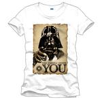 T-Shirt Star Wars Dark Vador sous licence officielle