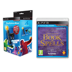 Wonderbook: Le Livre Des Potions + Grimoire Wonderbook + Le Pack Découverte Move (PS3)