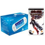 Console PSP Street (coloris blanc) + Tekken Dark Ressurection
