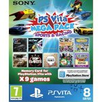 Sony Méga Pack Sports & Course : 9 Jeux + Carte Memoire 8 Go (PS Vita)