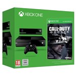 Console Xbox One Noire 500 Go + Capteur Kinect + Call of Duty - Ghosts