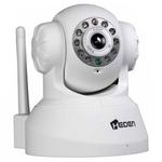 Caméra réseau intérieure motorisée (Ethernet, Wi-Fi)