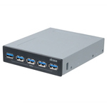 "Hub USB (5 ports USB 3.0) en façade dans baie 3.5"""