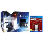Console PlayStation 4 500 Go + Killzone Shadow Fall + Camera + Deux Manettes Dual Shock 4 + NBA 2K14