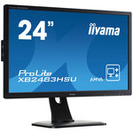 1920 x 1080 pixels - 4 ms - Format large 16/9 - Dalle AMVA+ - Pivot - HDMI - haut-parleurs - Noir