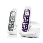 Téléphone sans fil DECT et combiné supplémentaire (version française)