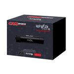 Caméscope sportif Full HD Slow Motion Carte mémoire avec fixations Velcro et berceau rotatif à 360°