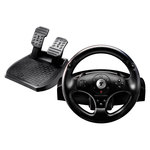 Ensemble de pilotage avec volant à retour de force et pédalier (compatible PC et PlayStation 3) pour simulation automobile