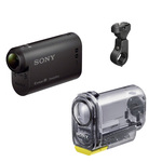 Caméscope action cam Full HD avec boîtier étanche et fixation vélo