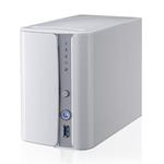 Boîtier externe NAS 2 baies (sans disque dur)