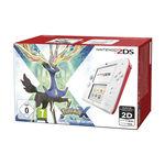 Console Nintendo 2DS + carte mémoire SDHC 4 Go + Adaptateur secteur + Pokemon X