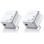Lot de 2 adaptateurs CPL 500 Mbps Wi-Fi N