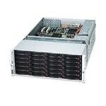 Rack 4U Noir avec alimentation redondante 1280W 80PLUS Platinum