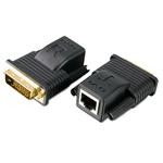Système d'extension vidéo DVI mini par câble de catégorie 5e/6 (20 m)